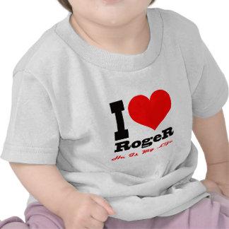 Amo a Rogelio. Él es mi vida Camiseta