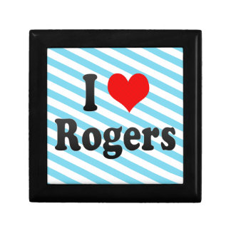 Amo a Rogers, Estados Unidos Caja De Joyas