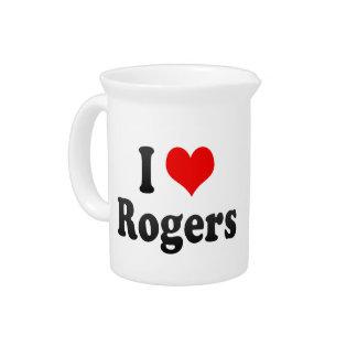 Amo a Rogers, Estados Unidos Jarron