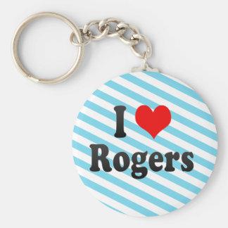 Amo a Rogers, Estados Unidos Llaveros Personalizados