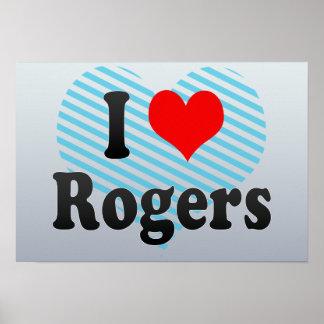 Amo a Rogers, Estados Unidos Poster