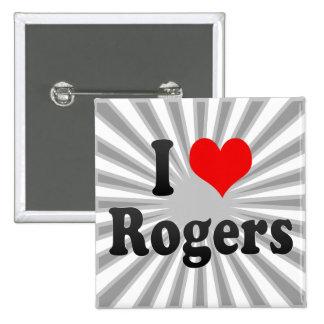 Amo a Rogers, Estados Unidos Pins