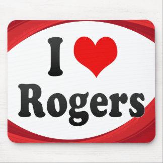 Amo a Rogers, Estados Unidos Tapete De Ratón
