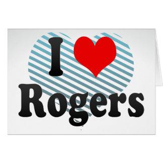 Amo a Rogers, Estados Unidos Tarjeton