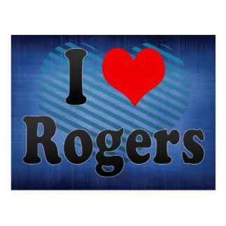 Amo a Rogers, Estados Unidos Tarjetas Postales
