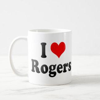 Amo a Rogers, Estados Unidos Tazas De Café