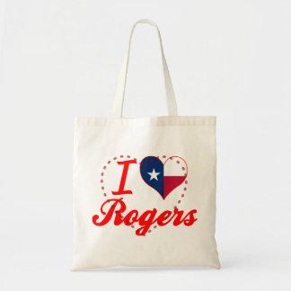 Amo a Rogers, Tejas Bolsas De Mano