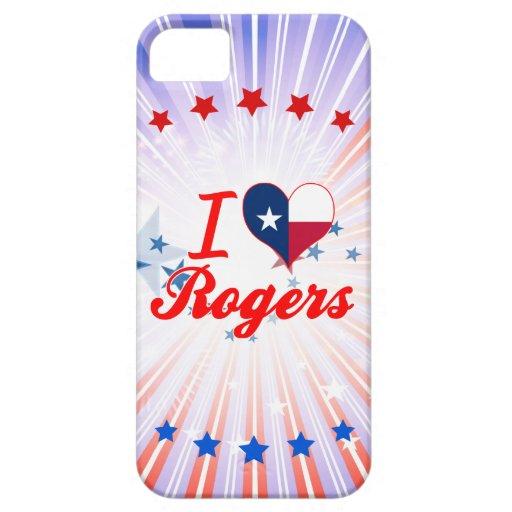 Amo a Rogers, Tejas iPhone 5 Funda