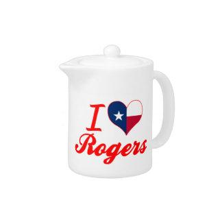 Amo a Rogers, Tejas
