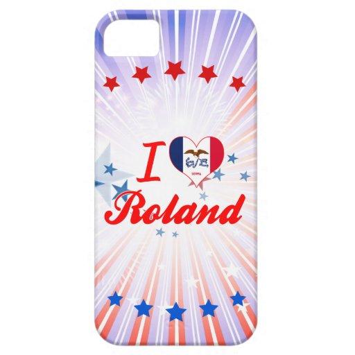 Amo a Roland, Iowa iPhone 5 Case-Mate Cárcasas