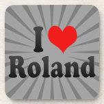 Amo a Roland Posavasos De Bebidas