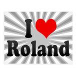 Amo a Roland Tarjeta Postal