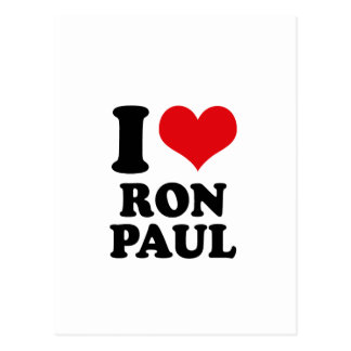 AMO A RON PAUL POSTALES