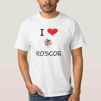 Amo a ROSCOE Illinois Playera