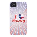 Amo a Rosenberg, Tejas iPhone 4 Case-Mate Carcasa