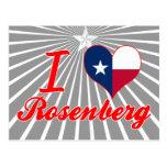 Amo a Rosenberg, Tejas Postales