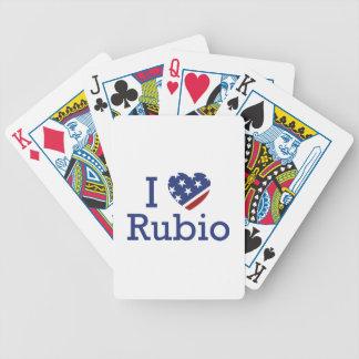 Amo a Rubio Baraja Cartas De Poker