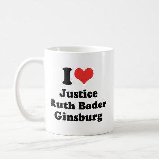 AMO A RUTH BADER GINSBURG - PNG TAZA DE CAFÉ