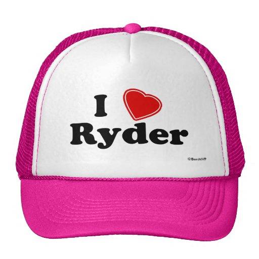 Amo a Ryder Gorra