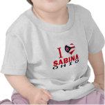 Amo a Sabina, Ohio Camisetas