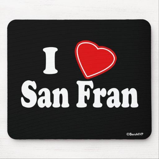 Amo a San Fran Tapete De Raton