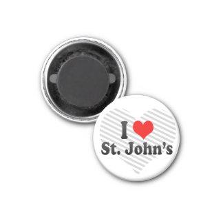 Amo a San Juan, Canadá Imán De Frigorífico