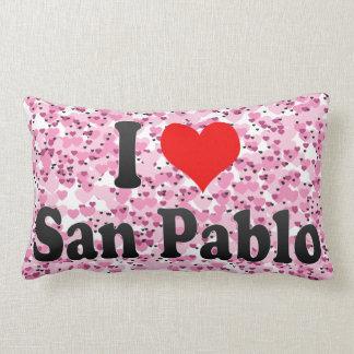 Amo a San Pablo, Filipinas Almohadas