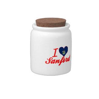 Amo a Sanford, Maine Platos Para Caramelos