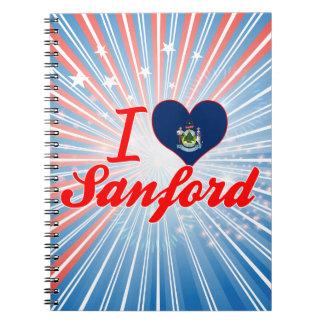 Amo a Sanford, Maine Libretas