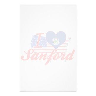 Amo a Sanford, Maine Papeleria