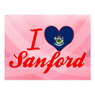 Amo a Sanford, Maine Postales