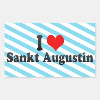 Amo a Sankt Agustín Alemania Etiquetas