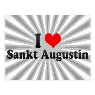 Amo a Sankt Agustín, Alemania Postales