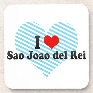Amo a Sao Joao del Rei, el Brasil Posavasos De Bebidas