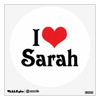 Amo a Sarah