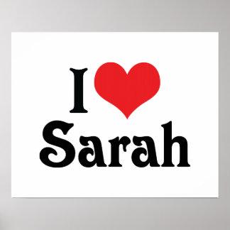 Amo a Sarah Impresiones