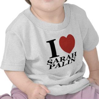 Amo a Sarah Palin Camisetas