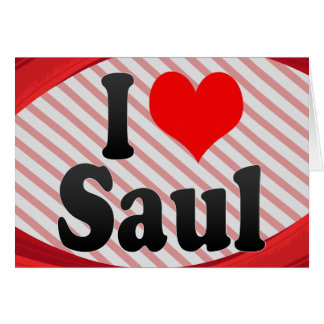 Amo a Saul Tarjetón