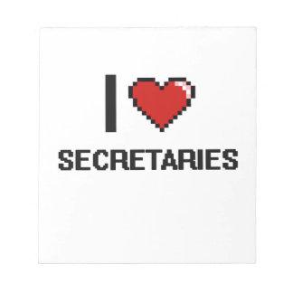 Amo a secretarias bloc