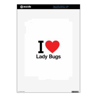 Amo a señora Bugs iPad 2 Skin
