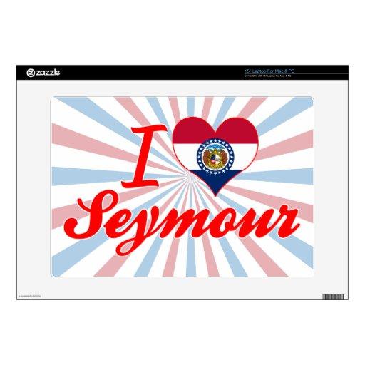 Amo a Seymour, Missouri Skins Para Portátil