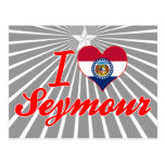 Amo a Seymour, Missouri Tarjetas Postales