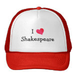 Amo a Shakespeare Gorro