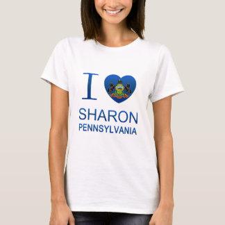 Amo a Sharon, PA Playera