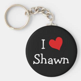Amo a Shawn Llavero Personalizado