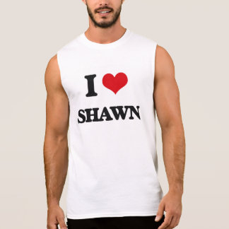 Amo a Shawn Camiseta Sin Mangas