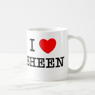 Amo a Sheen Tazas De Café