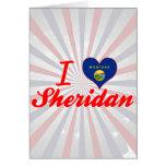Amo a Sheridan, Montana Tarjeta