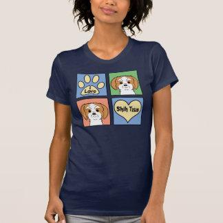 Amo a Shih Tzus Camiseta