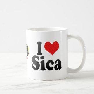 Amo a Sica Taza De Café